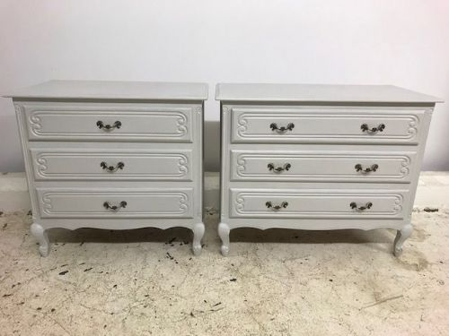Lovely Pair of French Chest Of Drawers - a91